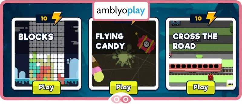 Juegos visuales AmblyoPlay - mimundovisual.com