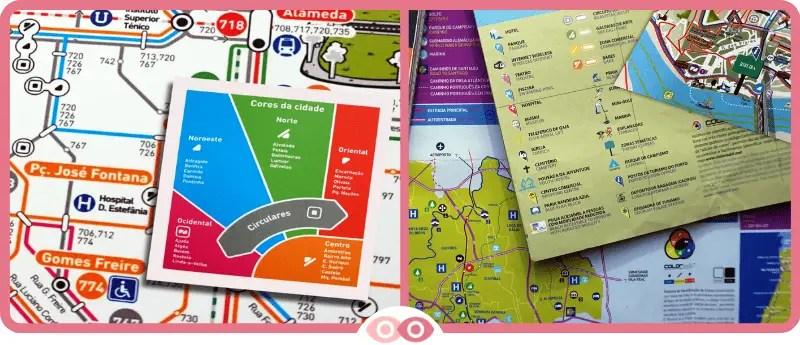 ColorADD en el transporte y los mapas turísticos - www.mimundovisual.com