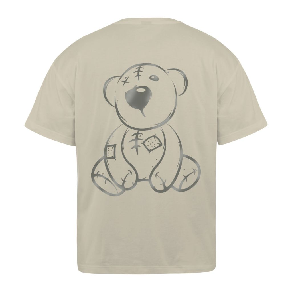 Reflective Teddy s-s Crystl Beige Back