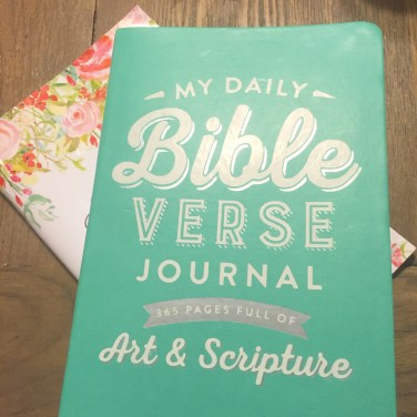 Daily Bible Verse Journal