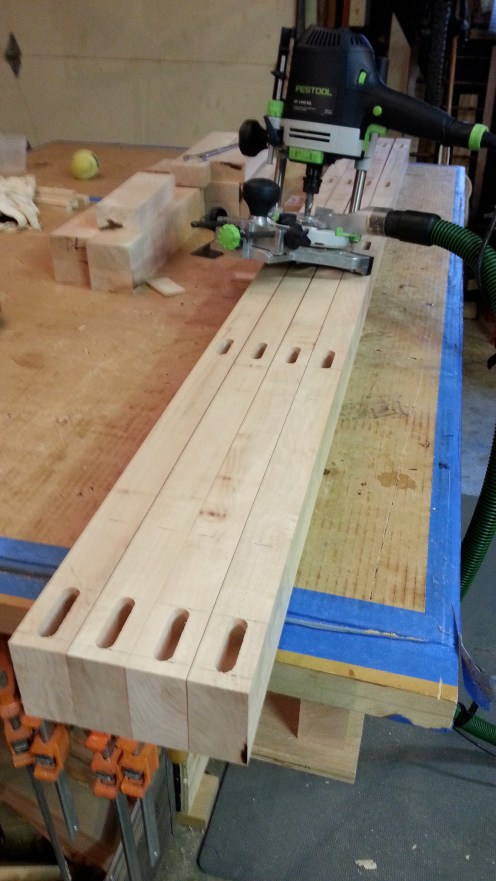 I used the OF 1400 to cut the mortises. Very accurate and fast.