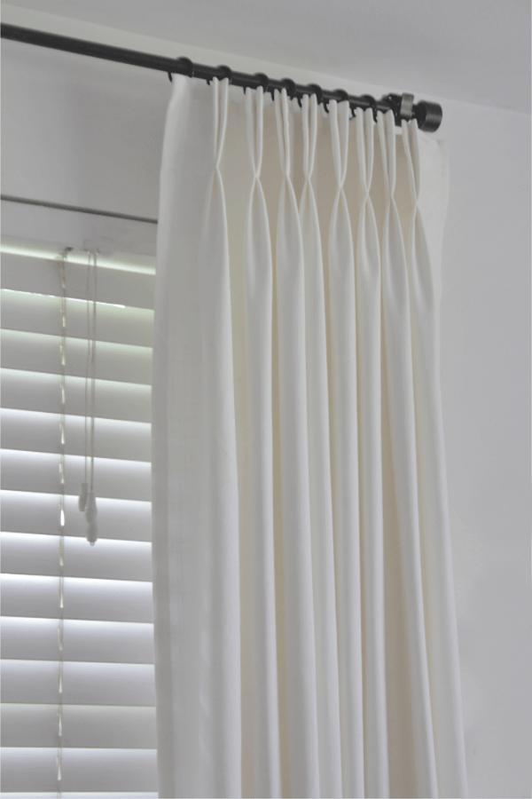 ready made ikea ritva curtains look