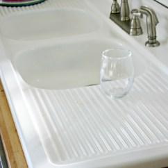 How To Refinish Kitchen Sink Hammered Copper Backsplash Refinishing A Cast Iron Besto Blog