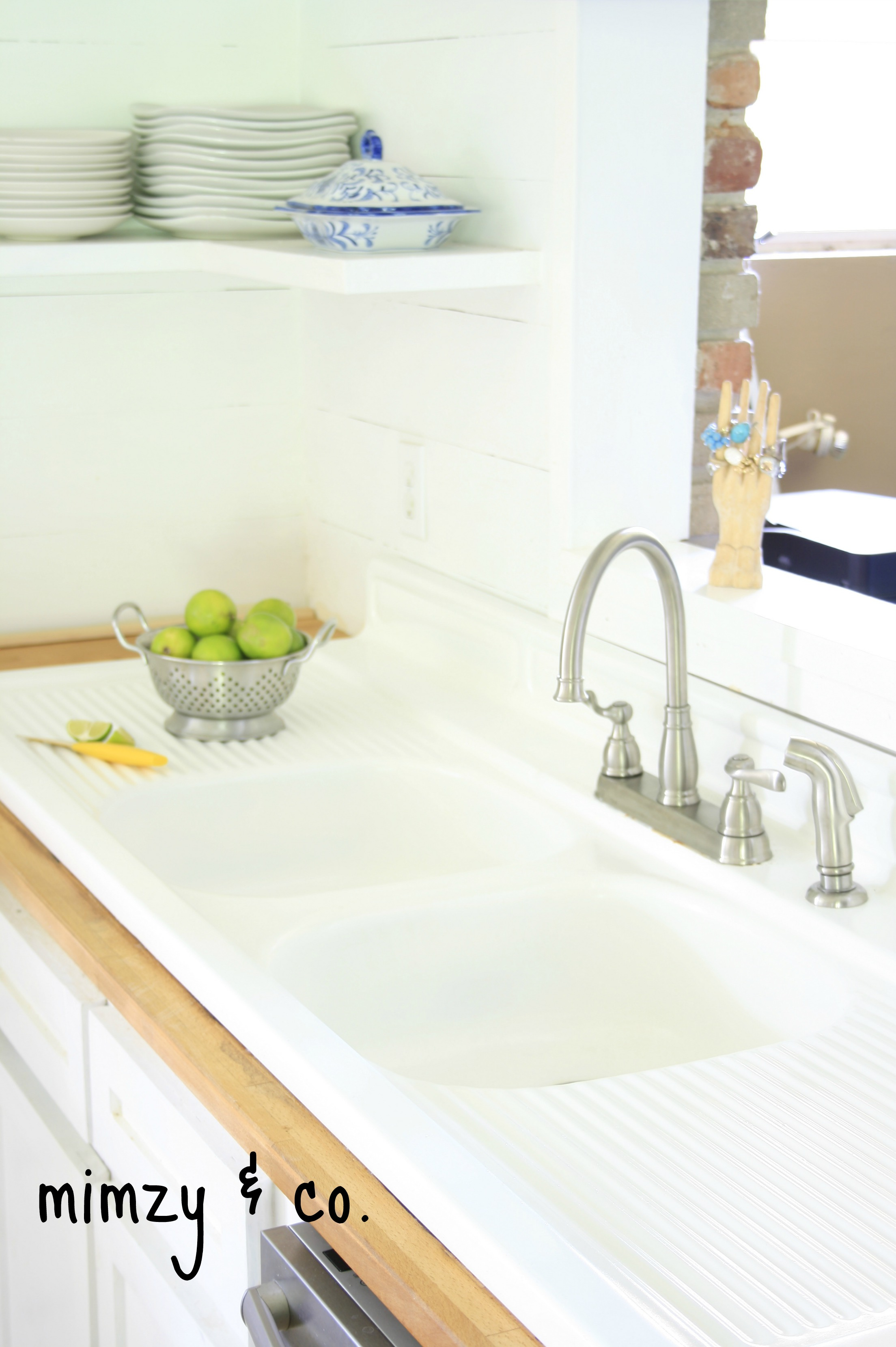refinish kitchen sink cheap decor how i refinished my vintage cast iron mimzy company sinkrefinished
