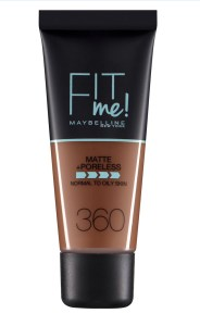 Maybelline Matte and Poreless Foundation