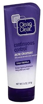 Clean & Clear Acne Cleanser