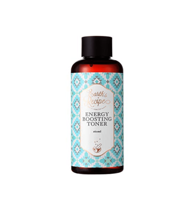 Earth's recipe energy boosting toner