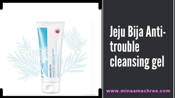 Jeju Bija Anti-trouble cleansing gel