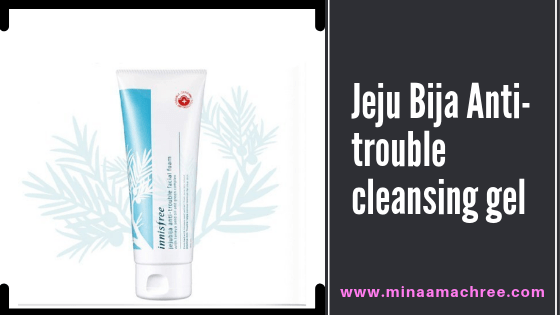 Jeju Bija Anti-trouble cleansing gel