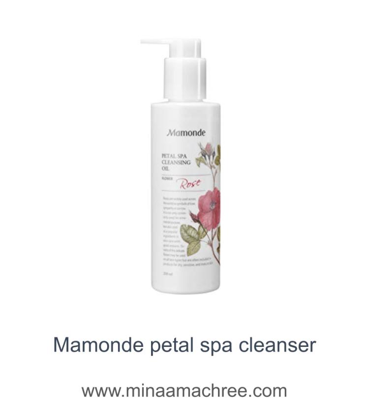 Mamonde petal spa cleanser