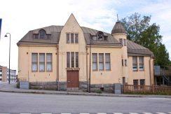 Det finns gott om gamla ganska risiga hus i Jakobstad
