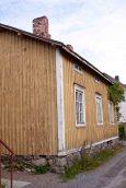 Ett hus i Skata, dvs gamla stan i Jakobstad