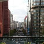 陥没事故2日後、博多駅。