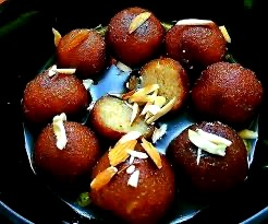 Gulab Jamun- A Delicious Sweet