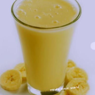 Banana almond milk shake