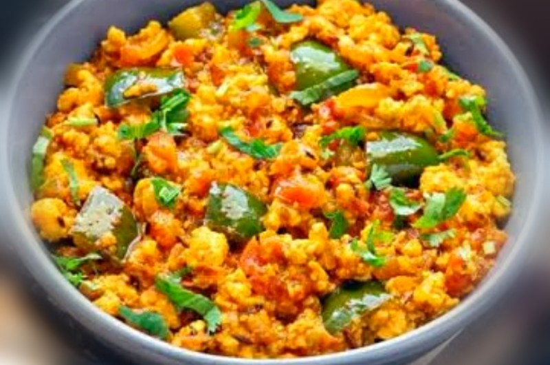 Paneer Bhurji - A Simple Paneer