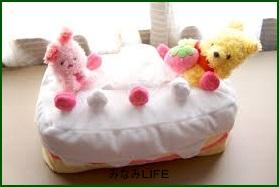 hanyuu6 羽生 商品特定!ショートケーキ型ティッシュカバーはプーさん?通販で購入は?