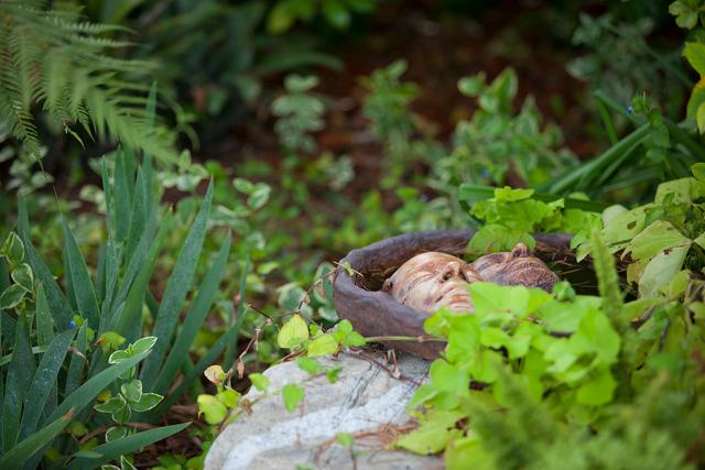 Garden Art - pottery