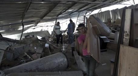 PESAWAT ISRAEL KEMBALI SERANG GAZA