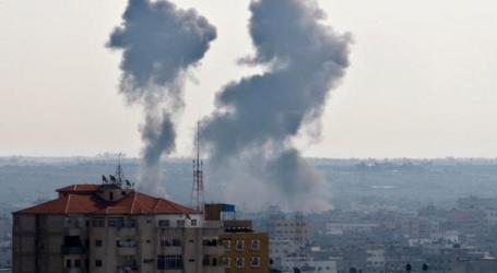ISRAEL LANCARKAN SERANGAN UDARA BARU DI GAZA