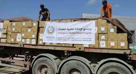 WHO KIRIM OBAT DAN ALAT MEDIS UNTUK GAZA