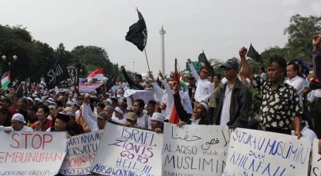 Aksi 812 Darurat Al-Quds di Kedubes AS Hari ini