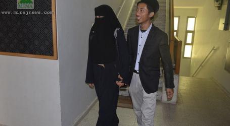 RELAWAN INDONESIA MENIKAHI MUSLIMAH GAZA DI TENGAH PERANG