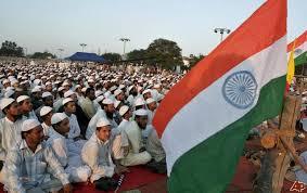 TAHUN BARU HIJRIAH MUSLIM INDIA BERDOA UNTUK PERDAMAIAN