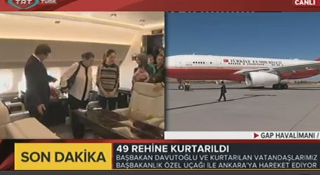 INTELIJEN TURKI BEBASKAN 49 WARGANYA DARI SANDERA ISIS