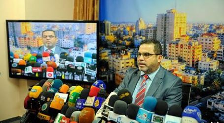 HAMAS : ISRAEL HARUS BERTANGGUNGJAWAB ATAS TERJADINYA MIGRASI WARGA GAZA