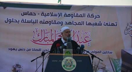 HANIYAH: BERSATULAH MUSLIMIN DEMI AL-AQSHA DAN PALESTINA