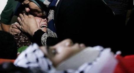 AKSI PROTES TUNTUT ISRAEL WARNAI PROSESI PEMAKAMAN ANAK USIA 13 TAHUN