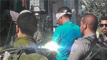 PASUKAN ZIONIS ISRAEL TAHAN REMAJA PALESTINA DI BEIT UMMAR