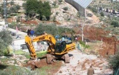 ISRAEL SITA TANAH WARGA PALESTINA DEKAT BETHLEHEM