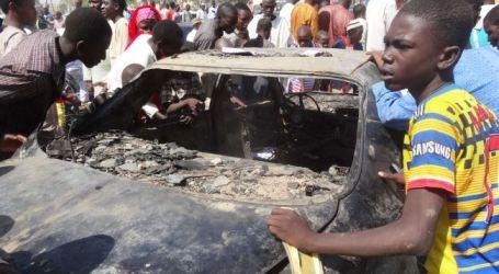 SERANGAN BOM DI PASAR NIGERIA, 10 ORANG TEWAS