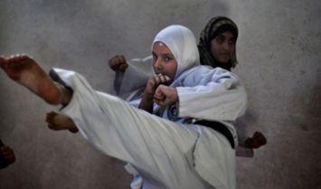 KARATE HOBI BARU MUSLIMAH DI JALUR GAZA