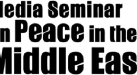 PBB DUKUNG SEMINAR MEDIA UNTUK PERDAMAIAN DI TIMUR TENGAH