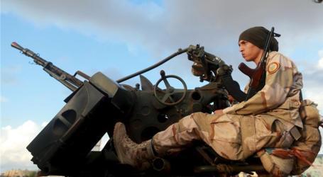 HELIKOPTER LIBYA DITEMBAK JATUH, BELASAN TEWAS