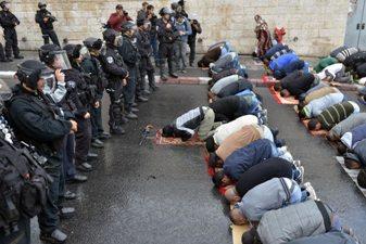 SUDAH SEMBILAN HARI ISRAEL LARANG MUSLIMIN KE AL-AQSHA
