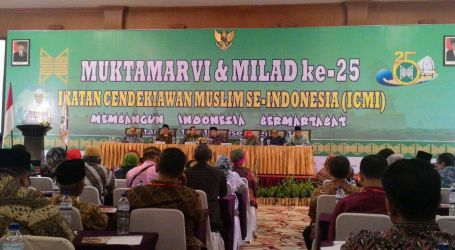 BJ. HABIBIE HARAPKAN ICMI PUNYA SUMBANGAN NYATA UNTUK INDONESIA