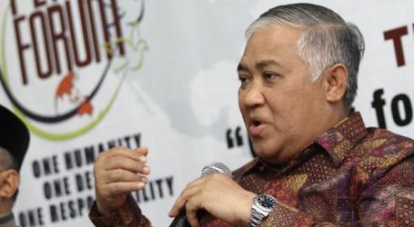 Din: Aksi 4 November Bukan Anti-Kerukunan