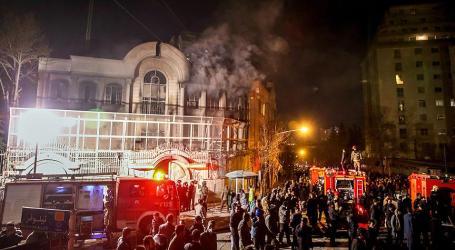 IRAN TANGKAP 40 PENYERANG DAN PEMBAKAR KEDUTAAN ARAB SAUDI