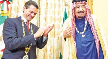 Saudi-Meksiko Tanda Tangani 9 Pakta Kerja Sama