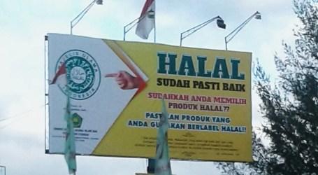 Kemenag Pasang Baliho Sosialisasi Halal di Provinsi Aceh