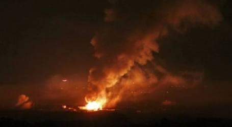 Israel Luncurkan Serangan Udara Di Jalur Gaza
