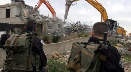 Israel Hancurkan Rumah Warga Palestina yang Sedang Dibangun di Al-Quds Timur