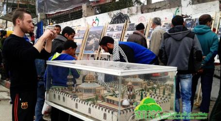 PAMERAN FOTO DI GAZA ; KAMI SIAP BERKORBAN DEMI AL QUDS