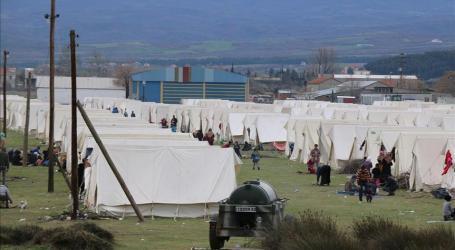 UNHCR Kesulitan Sediakan Layanan Bagi Pengungsi di Perbatasan Yunani-Macedonia