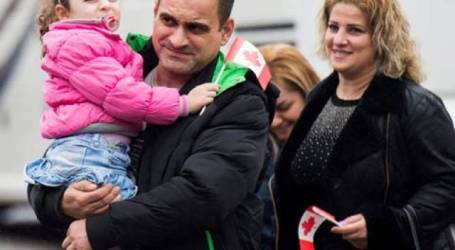 Kanada Tampung Dua Kali Lipat Pengungsi Suriah Tahun Ini