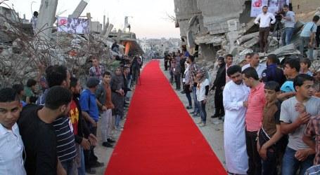 Festival Film HAM di Gaza Gelar Karpet Merah